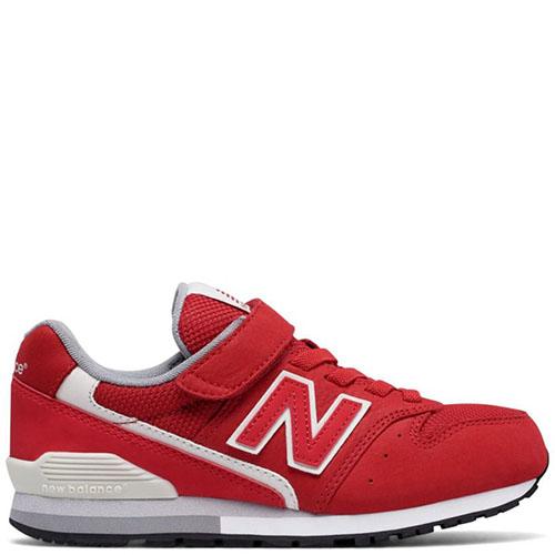 Кроссовки на липучках New Balance 996 Lifestyle красного цвета, фото