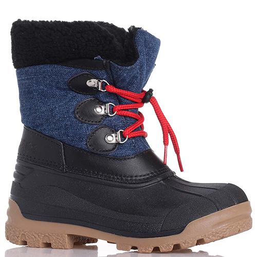 Сапоги Dsquared2 с красными шнурками, фото