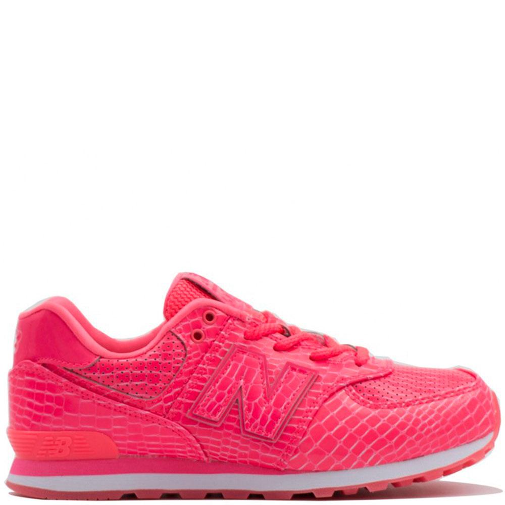 Розовые кроссовки New Balance 574
