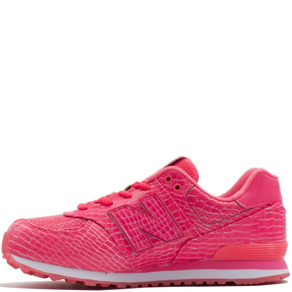 Кроссовки New Balance 574 розового цвета