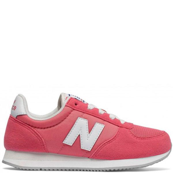 Замшевые кроссовки New Balance 220 розового цвета