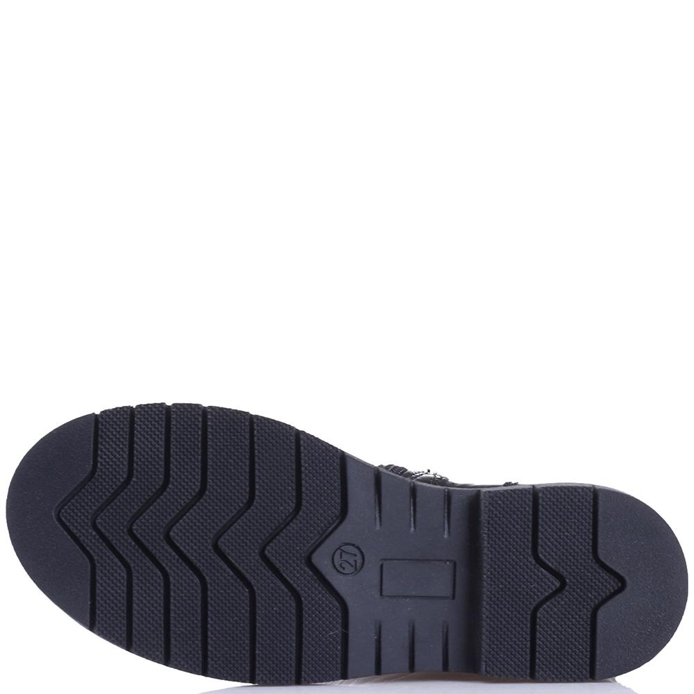 Черные сапоги Naturino из лаковой кожи