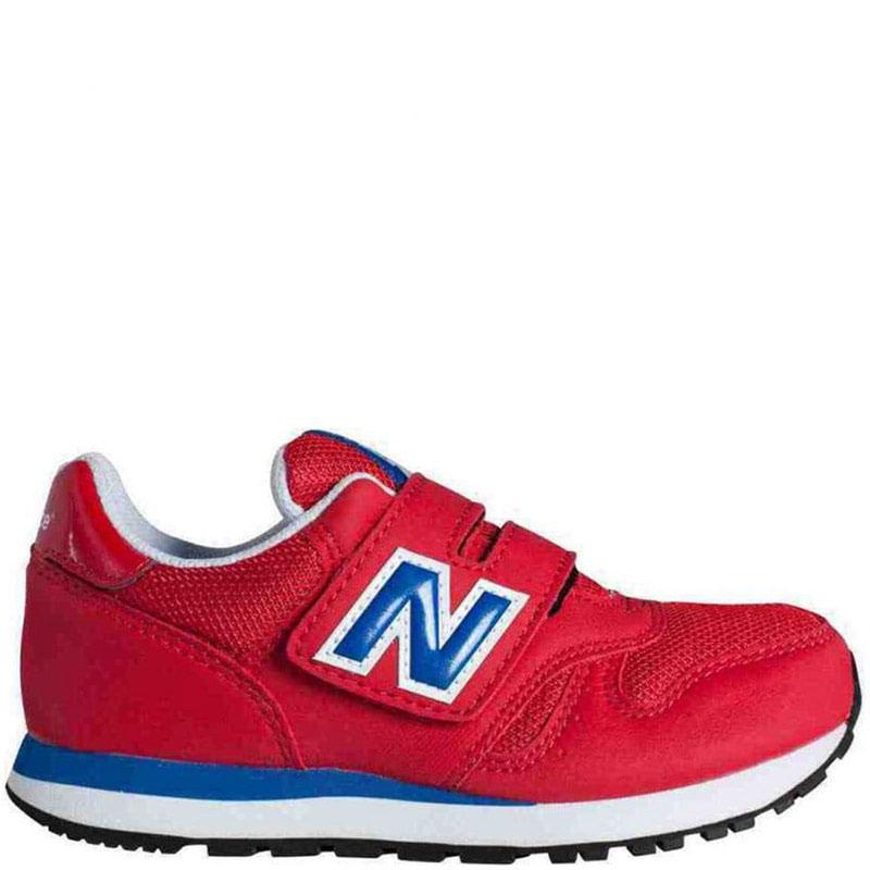 Замшевые кроссовки New Balance 373 Lifestyle красного цвета