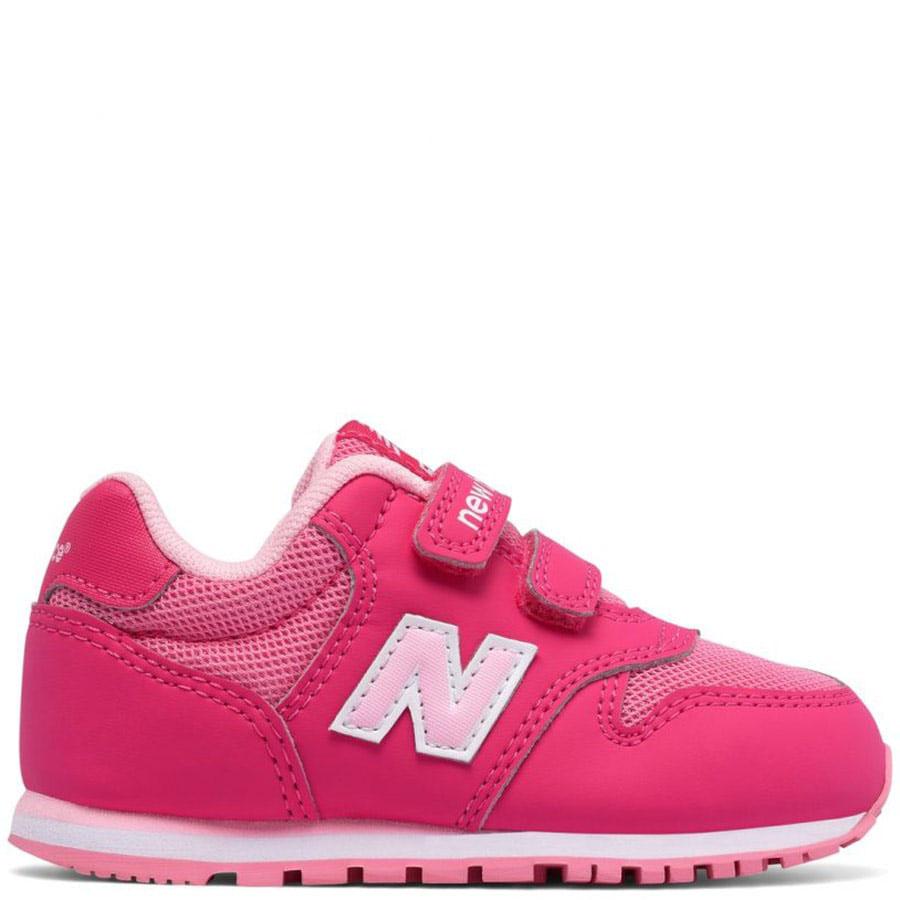 Кроссовки New Balance 500 Lifestyle розового цвета на липучках