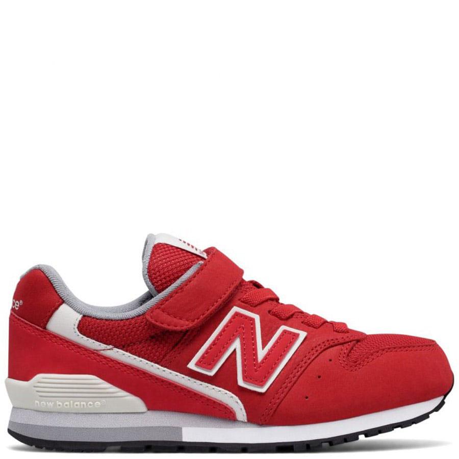 Кроссовки на липучках New Balance 996 Lifestyle красного цвета