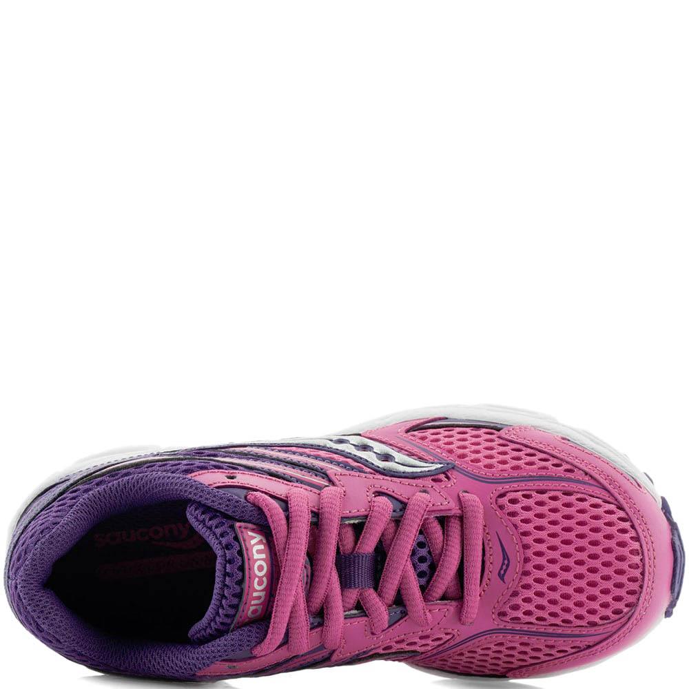 Розовые кроссовки Saucony SY-Girls Cohesion 9LTT для бега