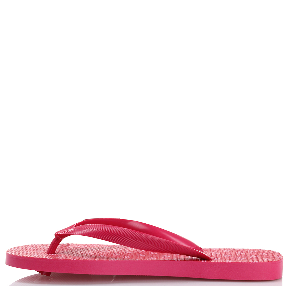 Сланцы Armani Junior в розовом цвете