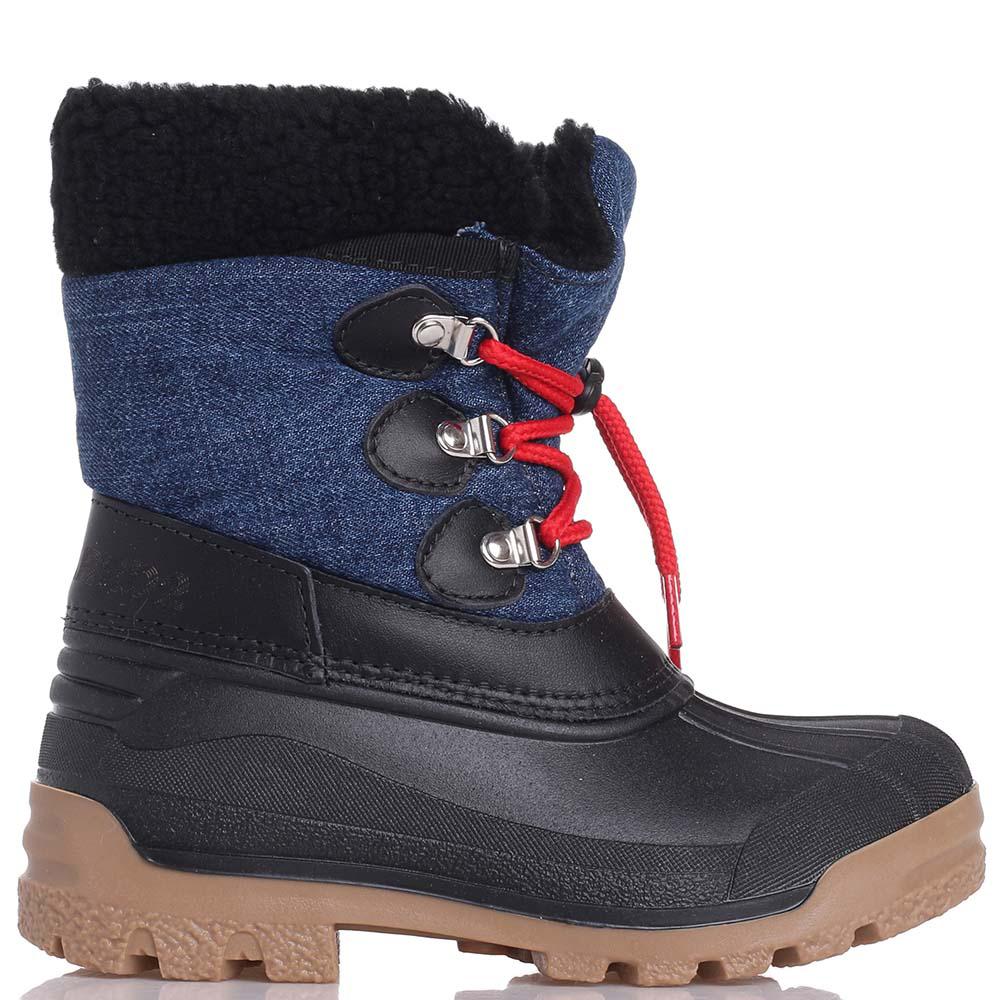 Сапоги Dsquared2 с красными шнурками