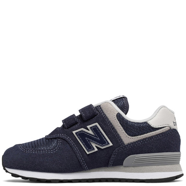 Кроссовки New Balance 574 из замши синего цвета