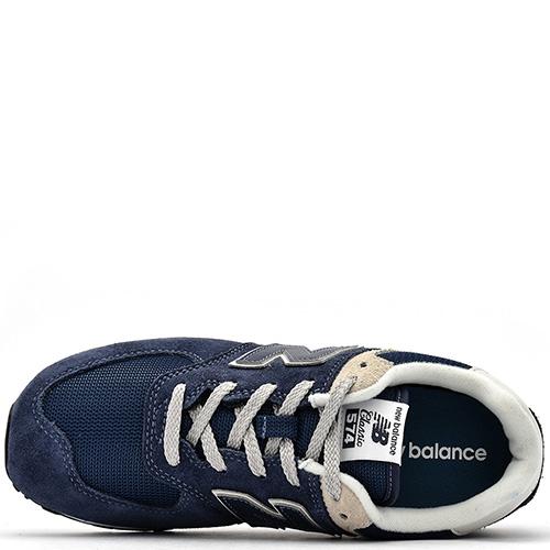 ☆ Кроссовки New Balance 574 синего цвета GC574GV купить в Киеве ... 9ba3cfa31bb61