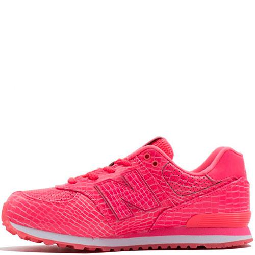 Розовые кроссовки New Balance 574, фото