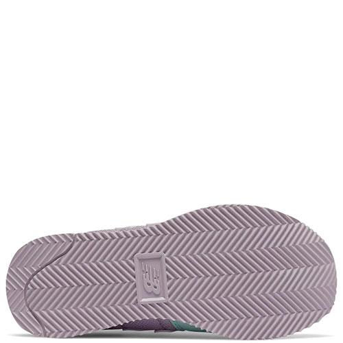Кроссовки New Balance 220 фиолетовые с салатовым, фото