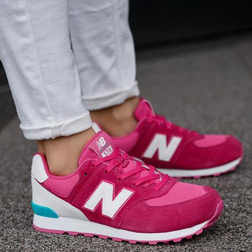 Кроссовки New Balance 574 Lifestyle розового цвета, фото