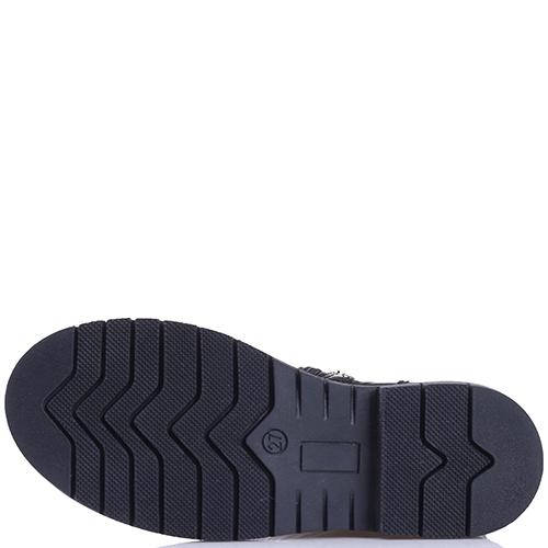 Черные сапоги Naturino из лаковой кожи, фото