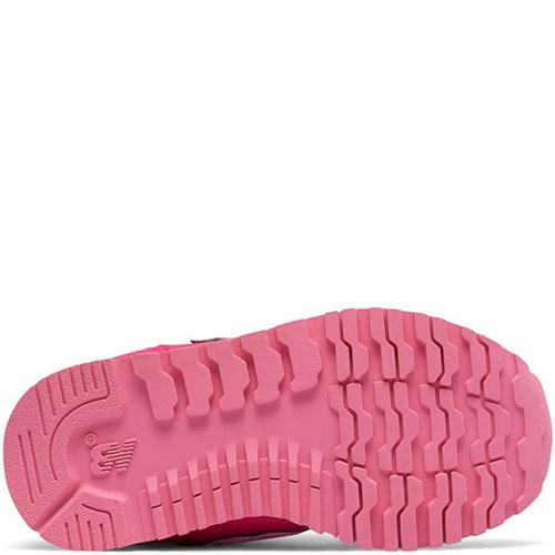 Кроссовки New Balance 500 Lifestyle розового цвета на липучках, фото