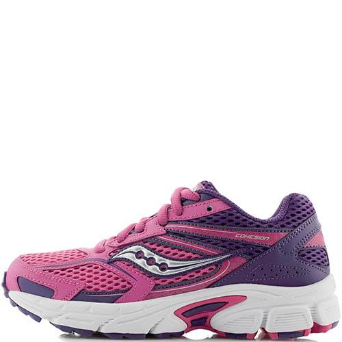 Розовые кроссовки Saucony SY-Girls Cohesion 9LTT для бега, фото