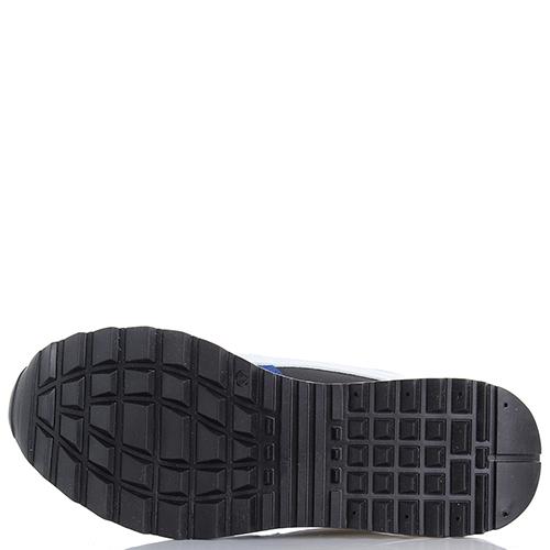 Кроссовки Dsquared2 из кожи с замшевыми вставками, фото