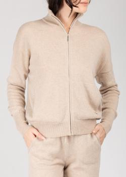 Кашемировая кофта GD Cashmere бежевого цвета, фото