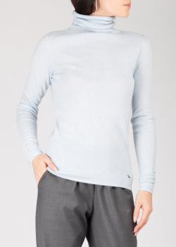 Голубой кашемировый свитер GD Cashmere с хомутом, фото