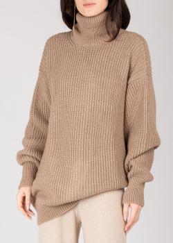 Коричневый свитер GD Cashmere из альпаки, фото