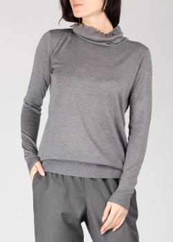 Гольф GD Cashmere из серой шерсти, фото