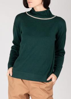 Джемпер GD Cashmere изумрудного цвета, фото