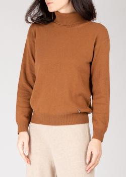 Кашемировый гольф GD Cashmere коричневого цвета, фото