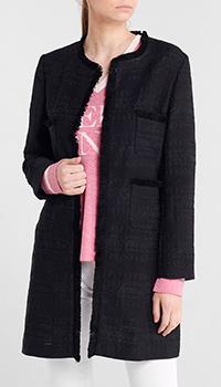 Черный жакет Seventy с накладными карманами, фото