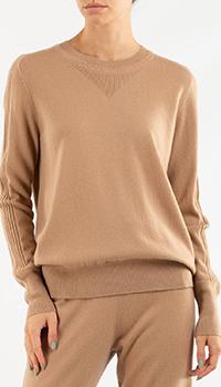Кашемировый джемпер Repeat Cashmere бежевого цвета, фото