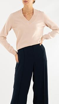 Кашемировый пуловер Repeat Cashmere розового цвета, фото