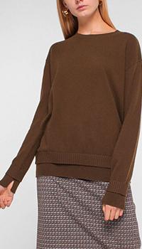 Джемпер Luisa Cerano из кашемира коричневого цвета, фото