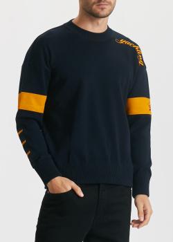 Мужской свитер Paul&Shark с желтыми вставками, фото