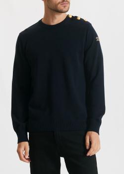 Шерстяной свитер Paul&Shark с пуговицами на плече, фото