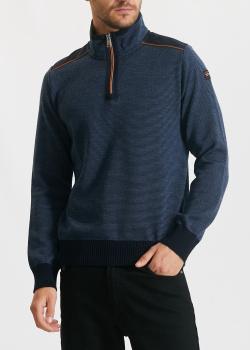Шерстяной свитер Paul&Shark в тонкую полоску, фото