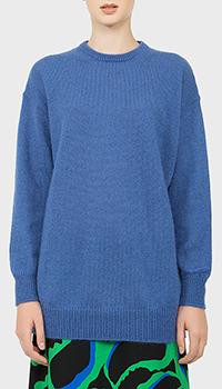 Женский свитер MaxMara синего цвета, фото