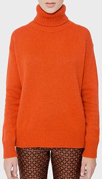 Свитер Etro вязаный оранжевого цвета, фото