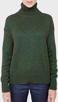 Зеленый свитер Etro свободного кроя, фото