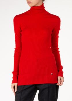 Красный гольф Nina Ricci с вырезом на спине, фото
