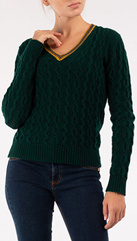 Пуловер Etro зеленого цвета, фото