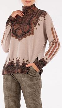 Кашемировый свитер Etro с узором, фото