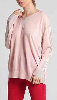 Джемпер Pinko розового цвета, фото