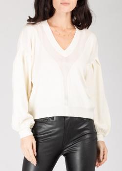 Пуловер Pinko из белой шерсти, фото