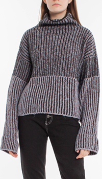 Вязаный свитер Pinko с широкими рукавами, фото