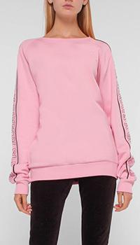 Розовый джемпер Quantum Courage с принтом на спине, фото