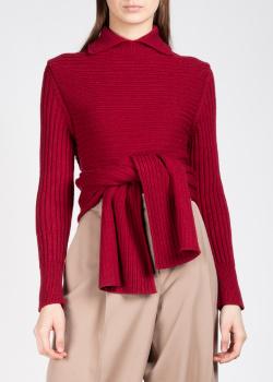 Шерстяной свитер Rochas с воротником, фото