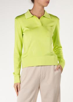 Джемпер-поло Nina Ricci с фирменной вышивкой, фото