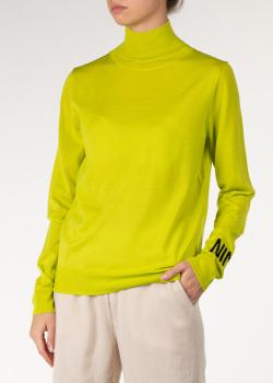 Яркий гольф Nina Ricci с логотипом на рукаве, фото