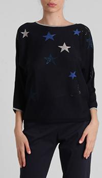 Черный джемпер Laurel со звездами, фото