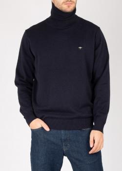 Синий хлопковый гольф Fynch-Hatton, фото