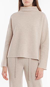 Шерстяной свитер Laurel с воротником-стойкой, фото